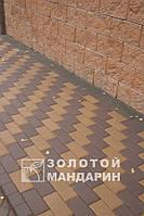 ТРОТУАРНАЯ ПЛИТКА Золотой Мандарин Кирпич стандартный 8см
