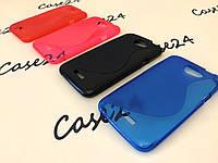 Чехол накладка для HTC One X / XL (4 цвета)