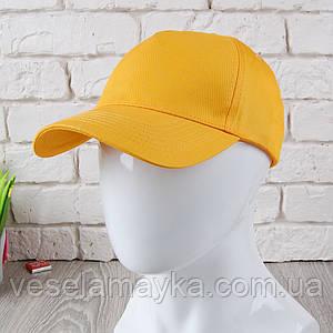 Жовта кепка на липучці (Преміум)