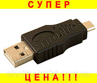 Переходник USB (папа) - microUSB (папа) DL-1393, фото 1