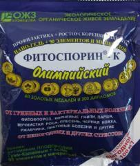 Биофунгицид Фитоспорин-К нано-гель (200 г) — профилактика грибковых и бактериальных заболеваний на растениях