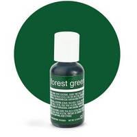 Гелевый краситель Chefmaster Forest Green / Зеленый лес, 20 гр (США), фото 1