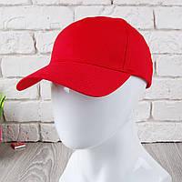 Красная кепка на липучке (Премиум)