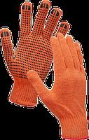 Рукавиця ХБ оранжева