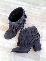 Гламурные ботинки короткие ботильоны демисезонная обувь для модниц 35-41 р