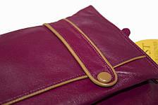 Женские бордовые перчатки LYNN-1693, фото 2
