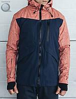 Весенне-осенняя куртка Staff - First red Art. hab0002 (красный | тёмно-синий)