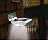 Світильник вуличний настінний з датчиком руху на 16 LED, фото 2