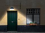 Світильник вуличний настінний з датчиком руху на 16 LED, фото 6