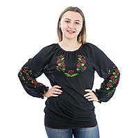 Сорочка женская с цветочной вышивкой