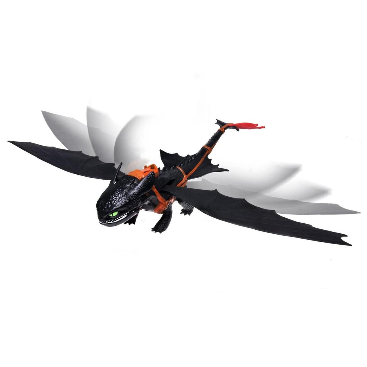 Spin Master Dragons Интерактивная игрушка дракон Беззубик дышащий огнем Как  приручить дракона  ac81c384c0392