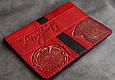 Обложка на паспорт кожаная Guk (5507), фото 6