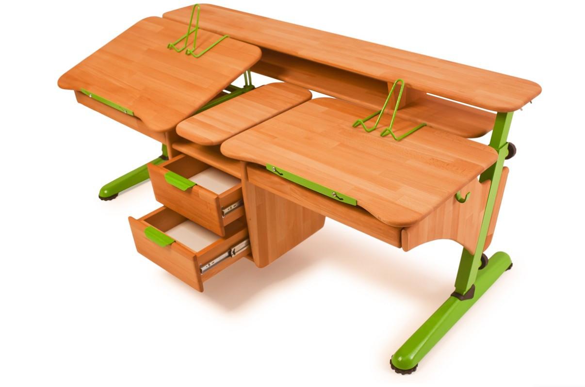 """Детский письменный стол """"Эргономик"""" для двоих детей ..."""