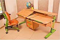 """Детский письменный стол """"Эргономик"""" для двоих детей, фото 1"""