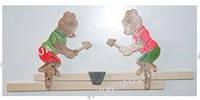 """Деревянная игрушка """"Мишки"""" //(171878)"""