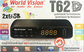Т2 Тюнер World VisionТ62D.YouTube MeGoGo ,IPTV,AC3