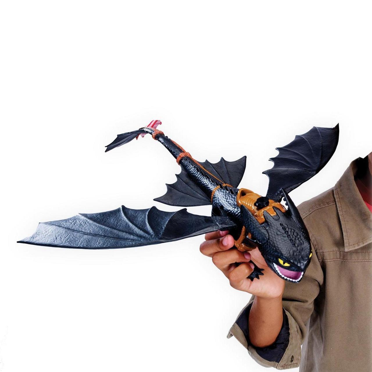 ... Spin Master Dragons Интерактивная игрушка дракон Беззубик дышащий огнем  Как приручить дракона  2cb79ad94be9c