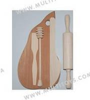 Кухонный набор для юной хозяйки №2 (5 предм.) в пакете 15*22см  /5/(К01215)