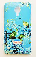 Чехол на Meizu MX4 Cath Kidston стильный Пластик Фиалки