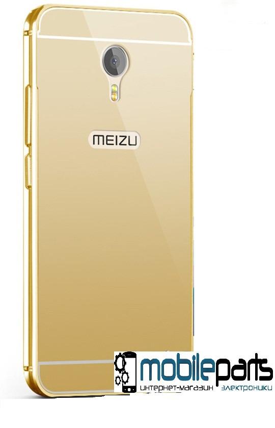 Оригинальный корпус (задняя панель) для Meizu M3s | M3s Mini (Золотой)