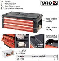 Ящик-секция для YT-09101 2 шуфляды 390х 215х 60 мм YT-09107