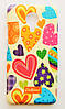 Чехол на Meizu MX5 Cath Kidston стильный Пластик Сердечки