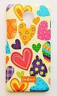 Чехол на Meizu MX5 Cath Kidston стильный Пластик Сердечки, фото 1