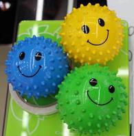 """Мяч 2"""" ежик BT-PB-0068 25гр.микс цветов 3шт. в сетка ш.к./200/600/(BT-PB-0068)"""