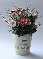 "Вазон цветов ""Belle Jardiniere""(27 см) в стиле прованс."