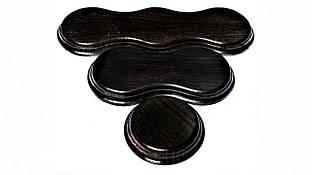 Подрозетник RE деревянный черный