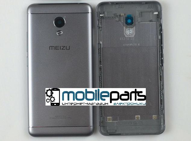 Оригинальный корпус (задняя панель) для Meizu M3s | M3s Mini (Серый)