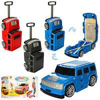 """Детский чемодан """"Машина"""", 3 цвета, MK1182"""