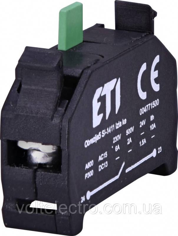 Блок-контакт E-NO(6А/230V)