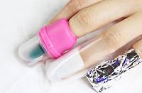 Как снять искусственные ногти
