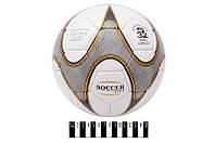 """Мяч футбольный """"Soccer City"""" (4слоя, латекс)  /60/(SOCCER CITY)"""