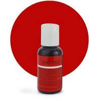 Гелевый краситель Chefmaster Red Red / Ярко красный, 20 гр (США), фото 1
