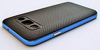 Чехол на Самсунг Galaxy A3 A300H SGP Case Силикон Черный Синий, фото 1