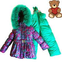 Детские комбинезоны зимние для девочек интернет магазин