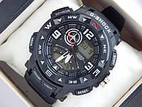 Спортивные наручные часы  Casio G-SHOCK ga-1000 черные авиаторы