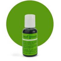 Гелевый краситель Chefmaster Leaf Green / Зеленый лист, 20 гр (США), фото 1