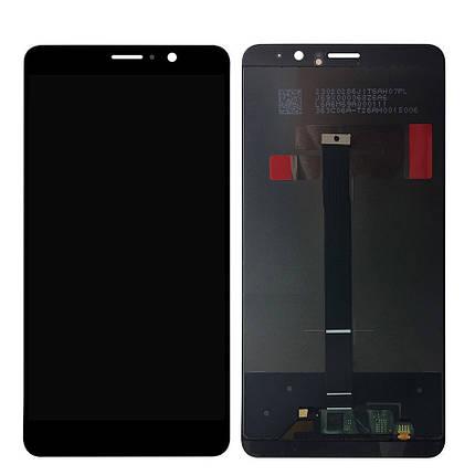 Дисплей (экран) для Huawei Mate 9 MHA-AL00 с сенсором (тачскрином) черный Оригинал, фото 2