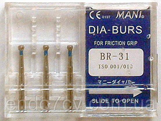 Стоматологические боры BR - 31 MANI (BR - 31 MANI DIA-BURS), фото 2