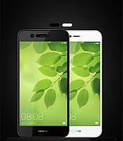 Защитное стекло для Huawei Nova 2 черное белое