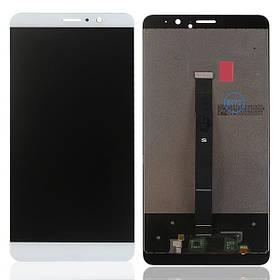 Дисплей (экран) для Huawei Mate 9 MHA-AL00 з сенсором (тачскріном) белый