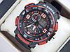 Спортивні наручний годинник Casio G-SHOCK ga-1000 червоні авіатори