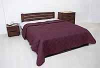 Покрывало для кровати 220х240 и две наволочки Vintage бордовое