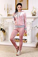 Женскийспортивный велюровый костюм размеры 42-52
