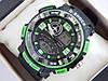 Спортивные наручные часы  Casio G-SHOCK ga-1000 зеленые авиаторы