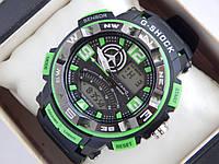 Спортивные наручные часы  Casio G-SHOCK ga-1000 зеленые авиаторы , фото 1