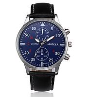 Наручные мужские часы с черным ремешком код 295